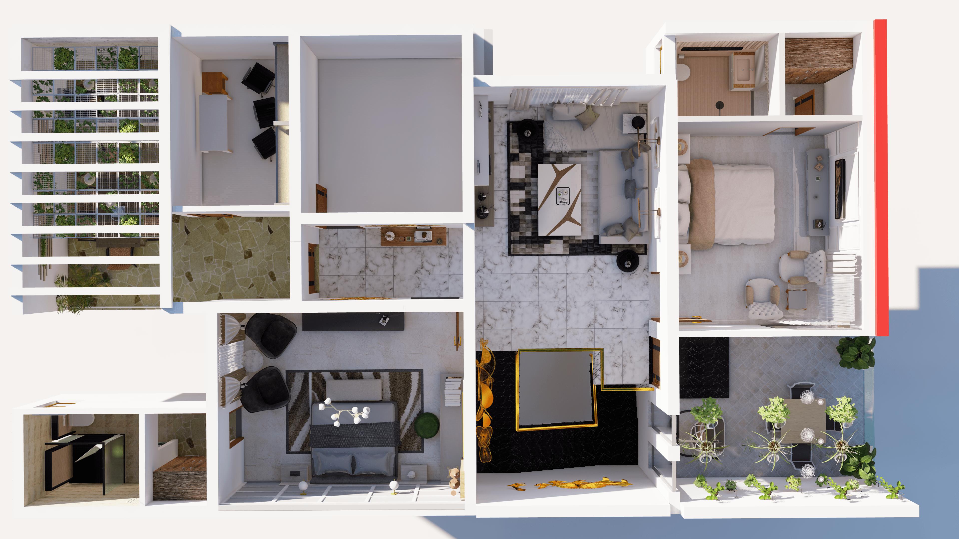 3D Floor Plans, 3D Architecture.design
