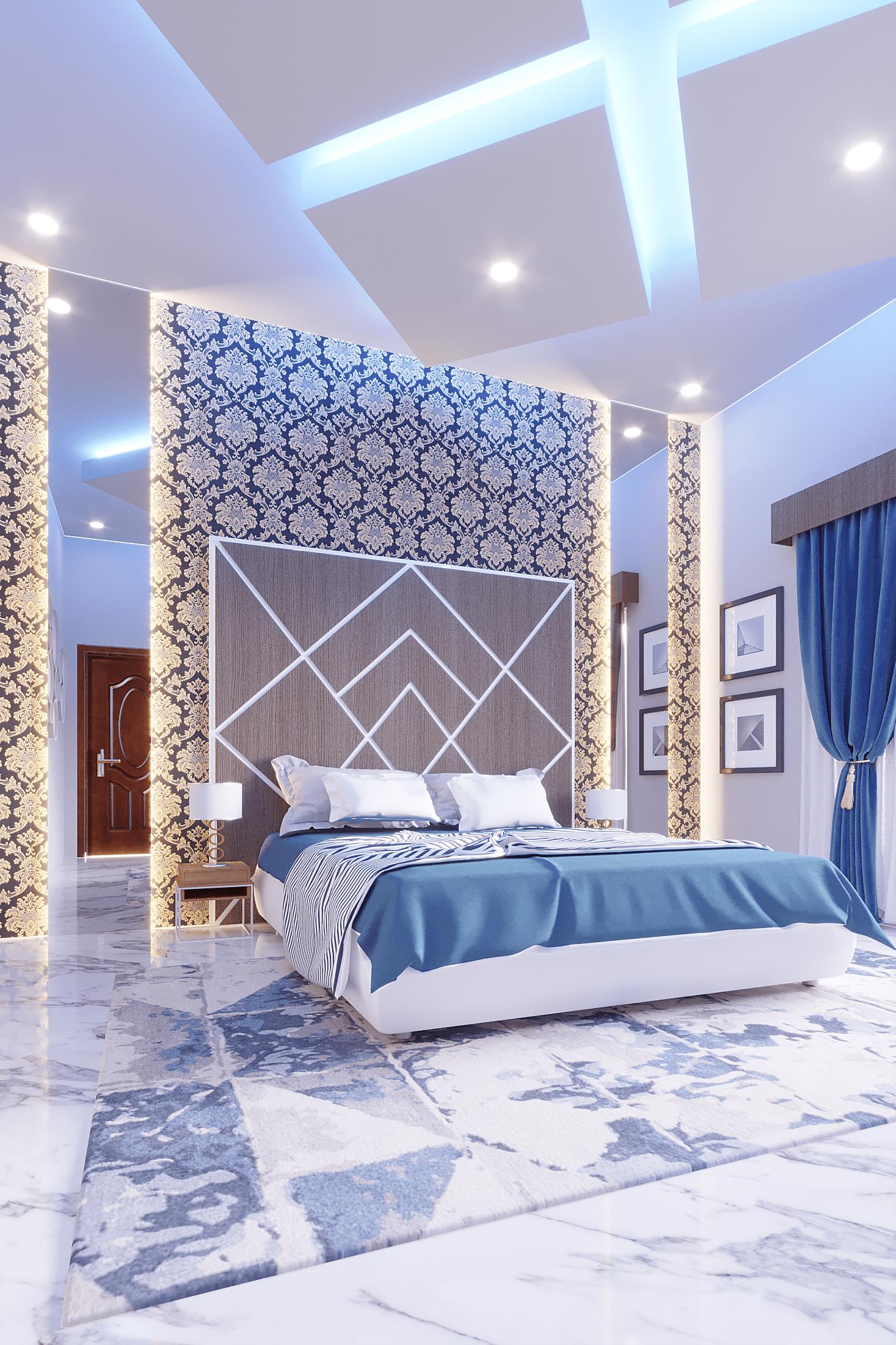 Bed Room inteiror Design
